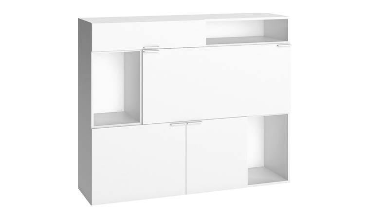 Buffet design blanc moderne