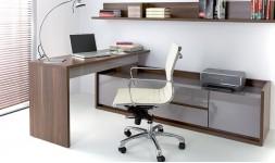 Fauteuil de bureau design beige
