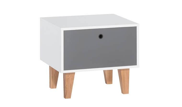 Table de nuit en bois chambre enfant design