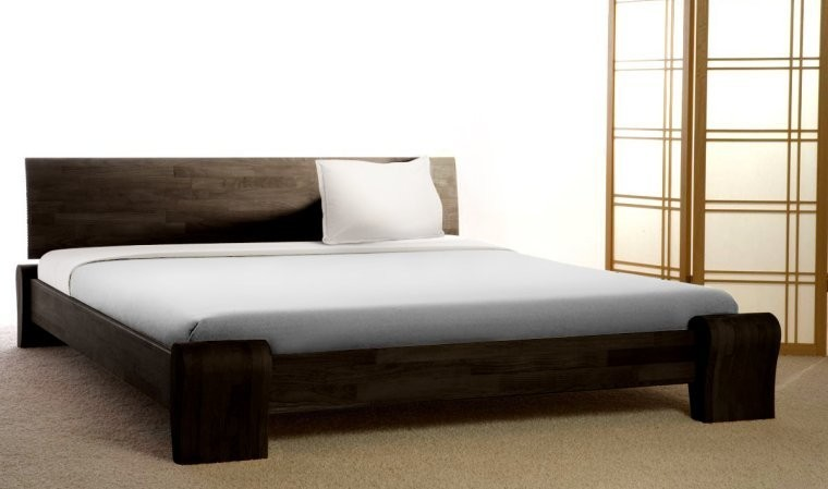 lit contemporain bona wenge mobilier chambre coucher adulte en bois massif lit haut de gamme. Black Bedroom Furniture Sets. Home Design Ideas