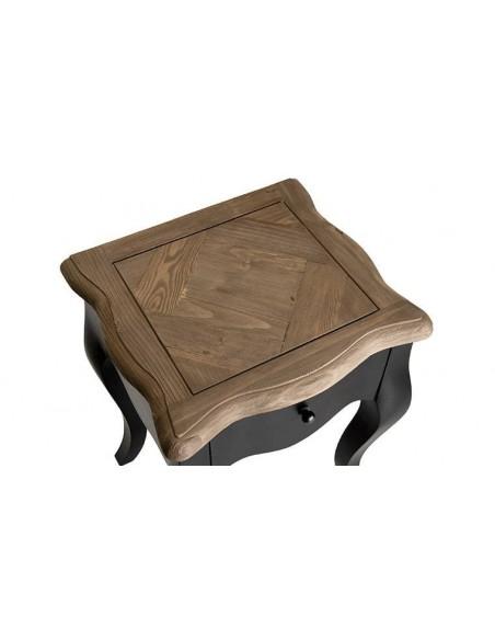 Table de nuit en manguier