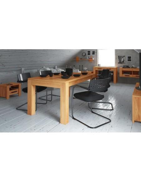 table manger hetre massif warehouse