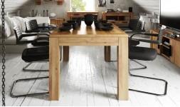 Table extensible en chêne