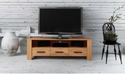meuble télévision hêtre