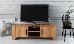 meuble tv chêne massif sauvage