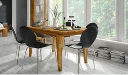 table classique en chêne