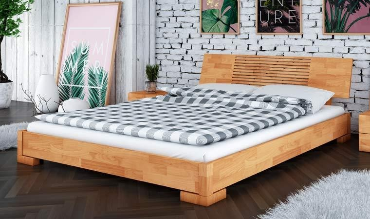 lit japonais en bois