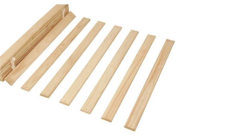 sommier lattes en bois massif pour toute structure de lit. Black Bedroom Furniture Sets. Home Design Ideas
