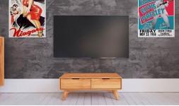 Meuble de télé hêtre