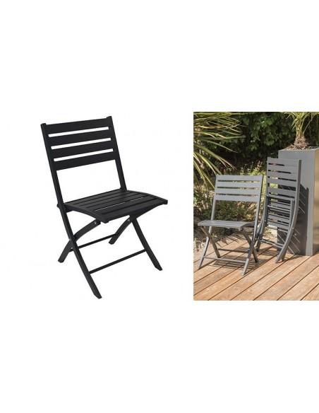 Salon jardin chaises pliantes