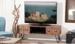 Meuble tv néo industriel