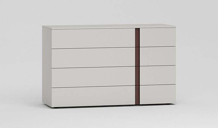 Commode design avec 4 tiroirs soft close blum
