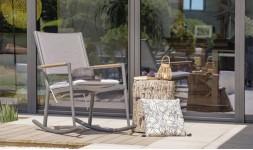 Rocking chair jardin design