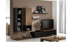 Ensemble mural meuble tv