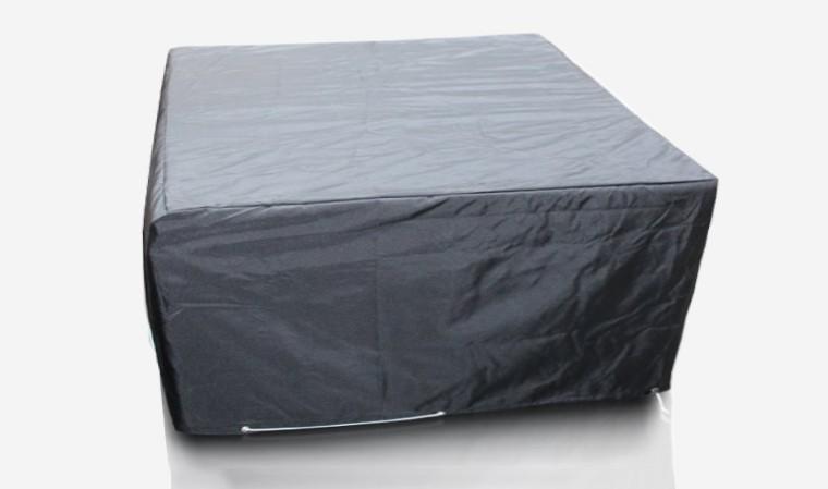 Housse de protection carrée pour table de jardin