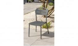 Chaise de jardin anthracite
