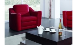 FAUTEUIL CUIR BIANCO