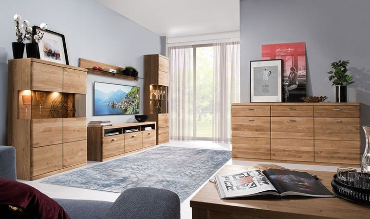 Meuble tv moderne en chêne