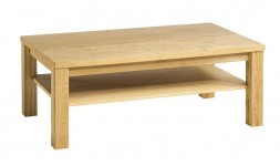 table basse chêne massif naturel