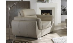 Fauteuil cuir CHAMBORD