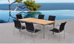 table et chaises de jardin de qualité
