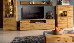 meuble télé chêne massif