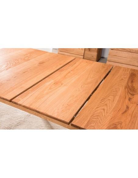 Table extensible chêne massif