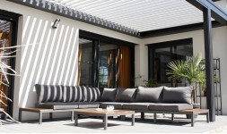 salon jardin teck et aluminium