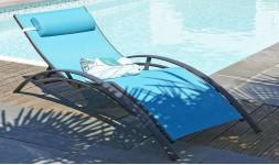 bain soleil bleu turquoise