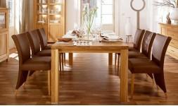 Table à manger en chêne massif