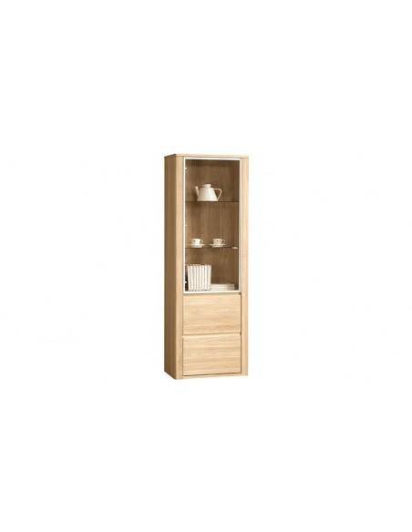 Vaisselier moderne en bois 2 portes