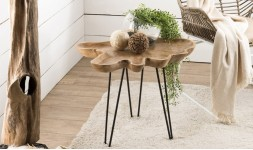 table d'appoint naturelle