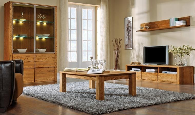 vaisselier contemporain en bois massif 4 portes. Black Bedroom Furniture Sets. Home Design Ideas