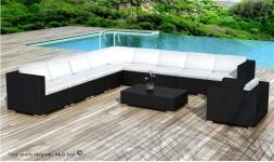 Grand salon de jardin design