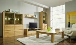 Table basse carrée en chêne haut de gamme 100 cm