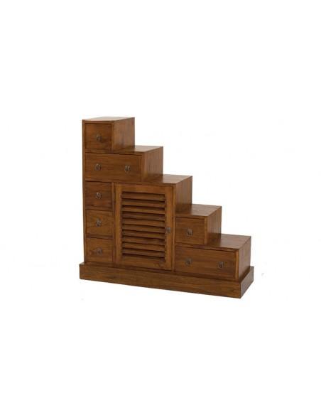 Meuble de rangement en escalier