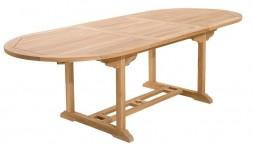 Table de jardin extensible en teck