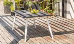 Table jardin imitation beton
