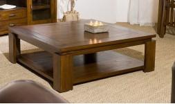 Table basse carrée contemporaine