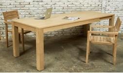 Grande table à manger bois massif et rallonge
