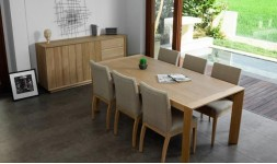 Table en chêne massif 200 cm