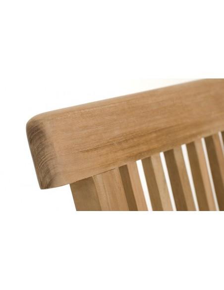 Chaise pliante en teck