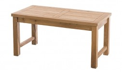 Table basse de jardin en teck