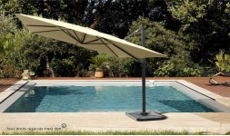 PARASOL DEPORTE SABLE RECTANGULAIRE