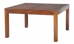 Table carrée extensible en bois