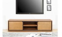 meuble tv teck massif