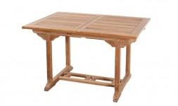Table de jardin 6 places en teck massif de qualité haut de gamme