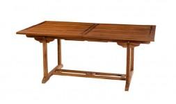 Table de jardin en bois massif 10 places