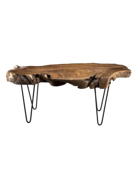 Table basse naturelle teck