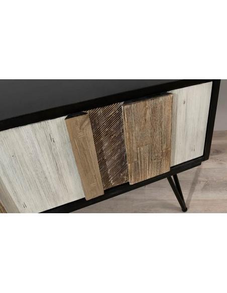 Meuble tv scandinave en bois